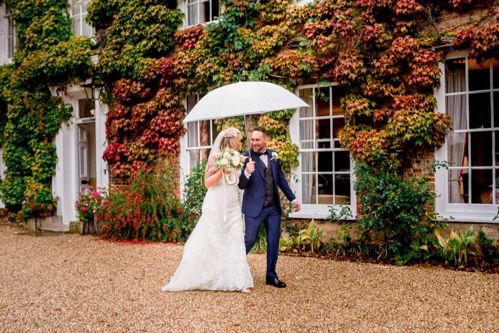 Rain on your wedding day sucks
