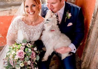 dog-bride-groom-wedding-photo