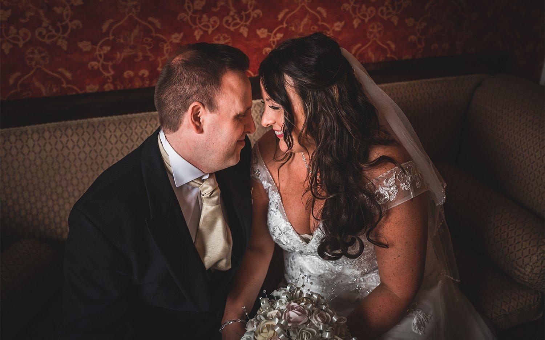 romantic bride and groom photo The Fennes Essex